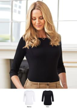 Elegant shirt in viscose and elastane stretch model. Ideal for receptionists, hostesses, hoteliers. Get a quote.