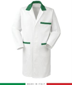 camice da uomo per lavoro made in italy a manica lunga