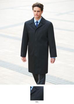 Cappotto colore nero in Poliestere e lana, con trattamento antimacchia. Ideale per uniformi di portierato, hotel, receptionist. Ottieni un preventivo gratuito.