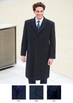 Cappotto in lana, cachemire e poliammide, colori navy, grigio, nero. Ideale per uniformi di portierato, hotel, receptionist. Ottieni un preventivo gratuito.