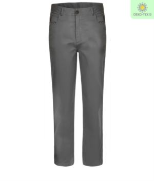Multi season stretch work trousers. Colour grey