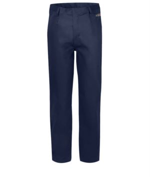 Multipro trousers, classic model, multi-pocket EN 11611, EN 1149-5, EN 13034, CEI EN 61482-1-2:2008, EN 11612:2009,colour blue