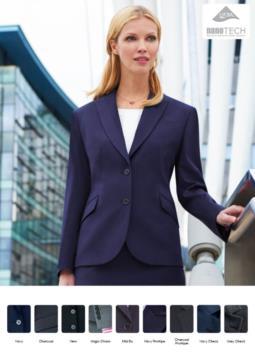 Giacca elegante con taglio sartoriale da donna Divisa da lavoro