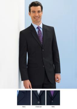 Giacca elegante uomo per divisa elegante da lavoro. Tessuto in Poliestere e lana, antipiega. Chiusura 3 bottoni. Due tasche laterali. Ottieni un preventivo gratuito.