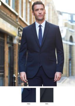 Giacca per divisa elegante da lavoro, tessuto 100% Poliestere, colori Blu Navy, Nero. Ideale per uniformi di portierato, hotel, receptionist. Ottieni un preventivo gratuito.