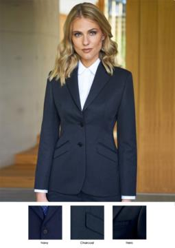 Elegant workwear and uniforms. Among other jackets and elegant suits for hoteliers, promoters.
