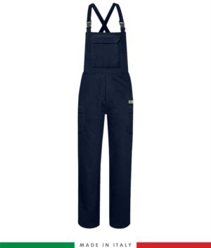 Multipro trousers, classic model, multi-pocket EN 11611, EN 1149-5, EN 13034, CEI EN 61482-1-2:2008, EN 11612:2009,colour navy blue