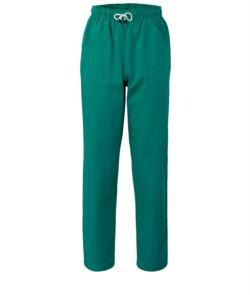pantaloni sanitari, color verde, Abiti da lavoro sanitario