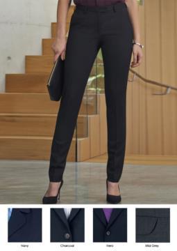 Pantaloni eleganti da lavoro per divisa elegante in tessuto antipiega. Ideali per  receptionist, hostess, hotellerie. Vendita all'ingrosso.