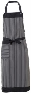 Apron with side pocket. Colour: tait pinstripe