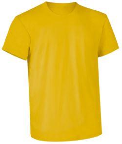 indumenti per lavoro Milano,stampa indumenti promozionali,T-shirt da lavoro gialla