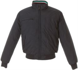 WATERPROOF JACKET WITH THREE COLOURED PROFILES