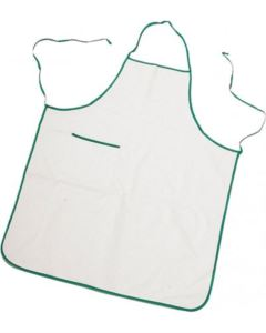 BICOLOURED APRON WITH POCKET