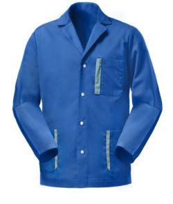 Bicoloured workwear jacket