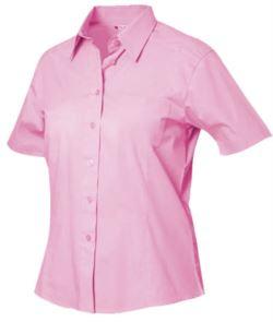 Camicia donna a maniche corte
