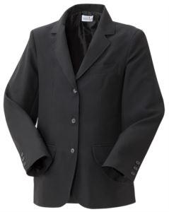 Giacca uomo foderata, chiusura anteriore con tre bottoni, due tasche anteriori, colore nero