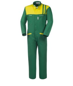 Green coverall
