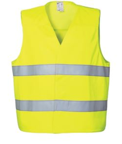 HIGH VISIBILITY GILET