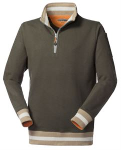 Half zip promotional sweatshirt