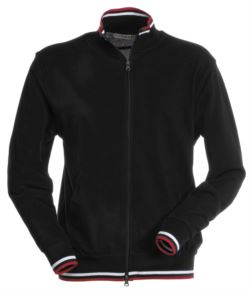 LONG SLEEVE POLO WITH PIPING