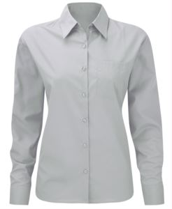 Long sleeve women oxford shirt
