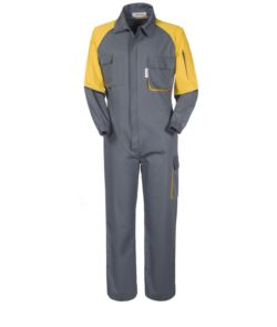 MULTIPOCKET ENTIRE COVERALL
