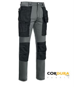 Multipocket trousers in cordura