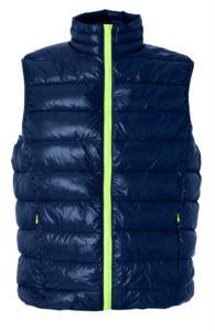 Nylon vest soft and shiny