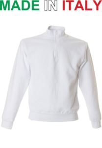 SHORT ZIP SWEATSHIRT FOR WOMEN