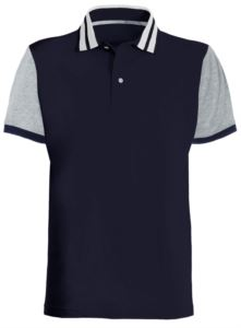 Short sleeve jersey polo