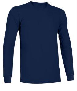 Tshirt manica lunga ignifuga e antistatica