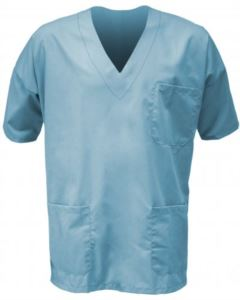 Unisex short sleeve hospital tunic
